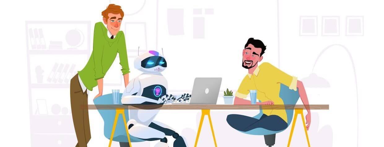 Roboty - wirtualne biurka