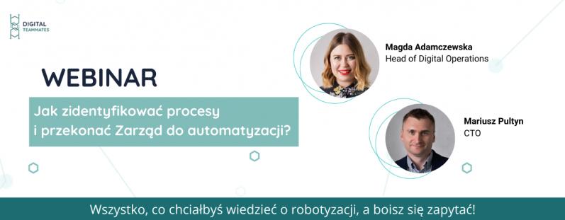 Jak znaleźć procesy do automatyzacji i przekonać Zarząd do wdrożenia Robotic Process Automation?