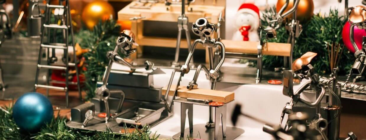 Święta z robotami