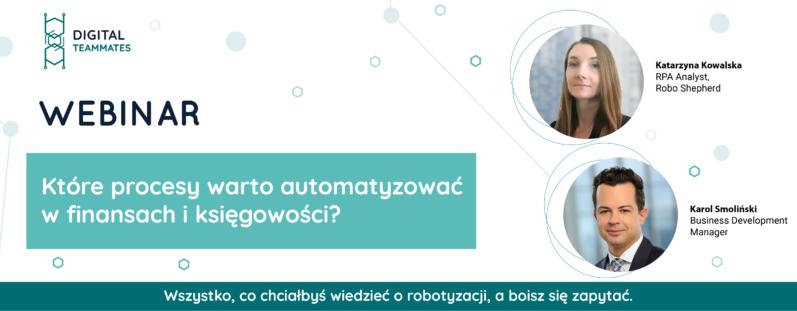 Które procesy warto automatyzować w księgowości? Robotic Process Automation w finansach