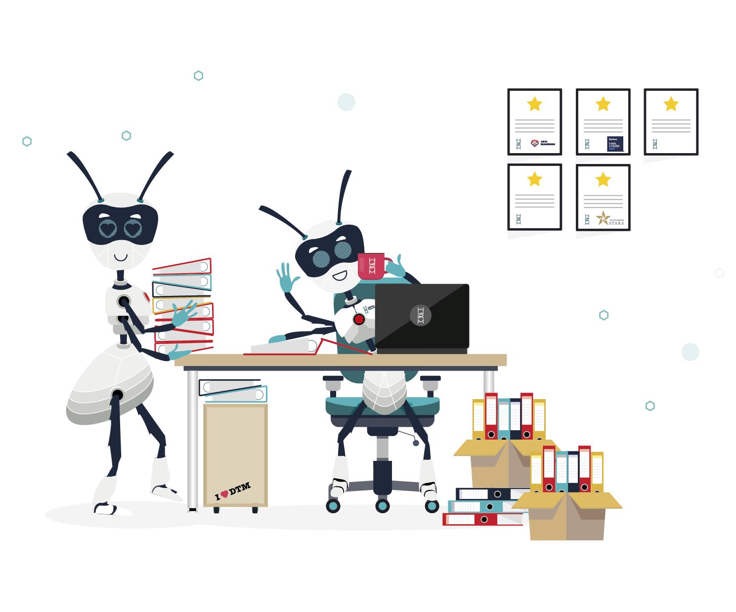 Cyfrowi Pracownicy w działach finansowych Obrazek