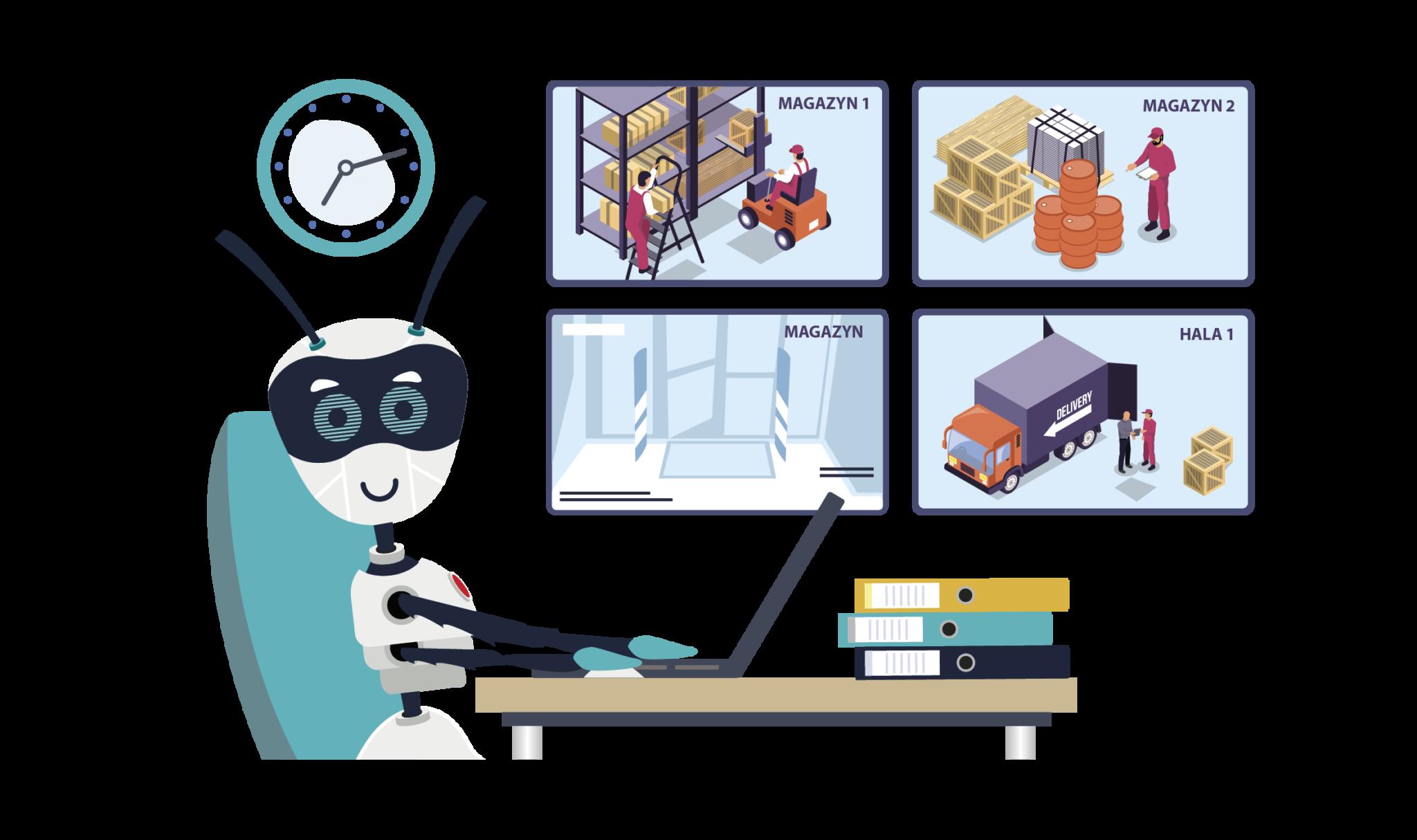Cyfrowi Współpracownicy w spedycji i logistyce Obrazek
